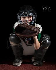 Catcher (teamribcage) Tags: baseball catcher corbin people portrait sports 5dii 5dmarkii ef70200mmf4lisusm ef70200f4lis canon speedlight strobist littleleague 430exii pocketwizard flextt5 minitt1