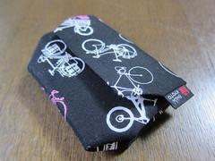 【ENISHI HAND MADE CYCLE WALLET 10-BIKES BLACK&WHITE&PINK 】 (jun.skywalker (enishi hand made cyclecap)) Tags: randonneur enishi handmade cyclewallet 10bikes blackwhitepink 縁 bike bicycle roadbike mtb kyoto nishijin japan touringbicycle wallet 財布
