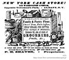 1870 new york cash store (albany group archive) Tags: albany ny history 1870 new york cash store grocery washington avenue 249 market old vintage photos picture photo photograph historic historical