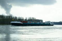MS MIRANDA (Lutz Blohm) Tags: msmiranda containerschiff rhein rheinschifffahrt binnenschifffahrt binnenschiffe gütermotorschiff fluskilometer394 fe70300goss sonyalpha7aii