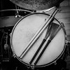 Sticks + Brushes (tim.perdue) Tags: minimalism brushes sticks snare drum percussion musical instrument black white bw monochrome bass pedal rim head music jazz iphone instagram square cymbal