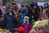 Crowd Watching (Scott 97006) Tags: people audience rain umbrella watcher watching crowd