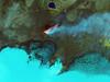 Roiling Flows on Holuhraun Lava Field (NASA Goddard Photo and Video) Tags: landsat landsat8 nasa nasagoddard