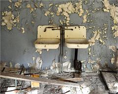 In a Pripyat School (Aad P.) Tags: chernobyl чорнобиль pripyat припять ukraine україна sovietunion cccp nuclearpowerplant radioactivity radiation urbex urbexphotography exclusionzone school practiceclassroom