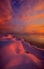 Where Nothing Really Matters (Phil~Koch) Tags: travel journey life mood emotions country outdoors colors living heaven weather horizons lines landscape field art meadow sky horizon sunset clouds wisconsin scenic vertical photography office portrait serene morning dawn nature natural earth environment inspired inspirational season beautiful hope love joy dramatic unity trending popular canon rural fineart arts shadow sun sunrise light peace shadows blue white snow winter frozen endless twilight shore lakemichigan