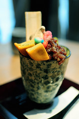 231115---Red Bean Parfait (Claire.Bate-Roullin) Tags: nikon d90 food diary japan travel parfait sweets dessert snack kyoto