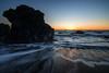 Granite Sunset (Middle aged Nikonite) Tags: furlong gulch bodega bay california waves ocean water rock boulder granite sunset colors landscape nature outdoor seascape nikon d750