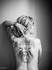 IMG_1188 (aochlesia13) Tags: tatoo tatouage femme dos monochrome contraste pose lumierenaturelle naturallight thaïtatoo nuances gris women prettygirl artbody prettywoman frenchwoman potraiture lifestyle life