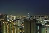 Working Late (OzGFK) Tags: 35mm asia kodakproimage nikkor nikon queenstown singapore analog cityscape film landscape longexposure night skyline urban skyville skyvilleatdawson hdb buildings welding working construction kodakproimage100