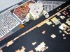 Bear at Work! 2/2 (pefkosmad) Tags: puzzle jigsaw pastime hobby leisure progressreport tedricstudmuffin teddy ted bear animal toy cuddly cute stuffed soft plush fluffy beginning zoffany tribuneoftheuffizi painting art 3000pieces project