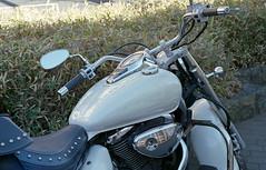 Big bike (odeleapple) Tags: olympus om1 zuiko autos 50mm kodaksupergold400 film motorbike