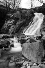 Black & white waterfall, Lake District (Lux Aeterna - Eternal Light) Tags: waterfall lakedistrict