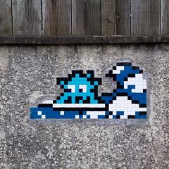 Invader CAPF-10 (OliveTruxi (1 Million views Thks!)) Tags: arcachon bassin bassindarcachon capferret invader lege mosaic spaceinvaders streetart tiles urbanart lègecapferret france