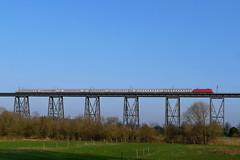 P1440525 (Lumixfan68) Tags: eisenbahn züge intercity ic deutsche bahn db baureihe 101 elektroloks drehstromloks rendsburger eisenbahnhochbrücke adtranz