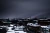 Quebec City (s.W.s.) Tags: cityscape city skyline dusk town urban winter snow clouds neutraldensity canada longexposure nikon d3300 lightroom