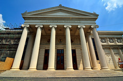 Romanian Atheneum (Gedsman) Tags: romania europe bucharest wallachia history historical tradition traditional capital beauty travel blueskies modern architecture