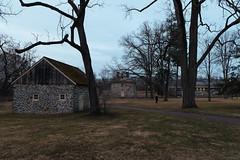 Walk through history (Garen M.) Tags: nikond850 washingtonsheadquarters nikkor2470mmf28 revolutionarywar pennsylvania valleyforge dusk