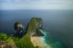 T- Rex (Thanwan Singh) Tags: nusapenida nusa penida landscape landscapes travel morning blue red green hill mountain sea beach tourist photography new latest 2017 thanwansingh blackjuce7 wanphotography sony alpha wide longexposure filter sunny windy travellling