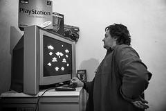 Testing a brazilian pirate Intellivision hardware emulator,circa 1988 (Museo dell'Informatica Funzionante) Tags: musif miai freaknet dyneorg trasformatorio