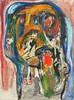 Asger Jorn - La Rose Féroce 1961 (drager meurtant) Tags: oil asgerjorn abstractexpressionism gemeentemuseum denhaag