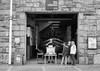 Brew & Lifeboats (joshdgeorge7) Tags: cornwall newquay lifeboats boat brew tea break blackandwhite ilford voigtlander fp4 film