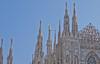 Il Duomo # 3 (schreibtnix on 'n off) Tags: reisen travelling italien italy mailand milan architektur architecture dom cathedral santamarianascente fassade facade himmel sky blau blue strukturen structures olympuse5 schreibtnix