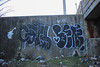Cats, Bene (NJphotograffer) Tags: graffiti graff new jersey nj bridge cats ckd void ldz crew bene