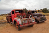 kick the tires (csnyder103) Tags: dodge old trucks utah classic antique oil texaco canoneos6d canonef24105mmf4lisusm