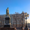 Pushkin sq. at Sunset (ivan.dolgoff) Tags: olympusepl3 moscow russia monuments