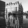 The Grand Hotel (Brett T) Tags: architecture building reflection people hartlepool grand hotel rain shower pavement sidewalk