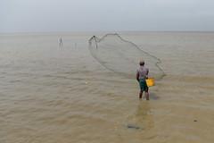 Cast Net Fisherman Jan 2018 #3 (*Amanda Richards) Tags: castnet castnetfisherman atlanticcoast atlantic fishing net georgetown guyana ogle fisherman throw thrownet