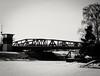 Santahamina bridge on a Winters day (Petri Juhana) Tags: winter snow sunny ice bw finland sea