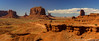 View from John Ford Point (sarahOphoto) Tags: monument valley utah arizona butte buttes horse john ford point view usa united states america canon 6d landscape nature sandstone orange sand desert blue sky