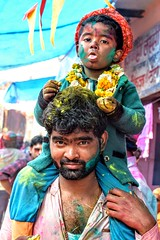 What Better than a Ride on Your Father's Shoulder (Eddie.Rasheed) Tags: father son kids bond fatherson love childhood child holi nikonphotography nikon nikondigital incredibleindia travel travelogue travelphotography mypixeldiary colors festivity festival wanderer portrait portraitphotography
