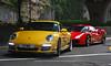 Porsche 997 / Ferrari 488 GTB, Hong Kong (Daryl Chapman Photography) Tags: cybk porsche german 911 997 carrera ferrari 488 488gtb hongkong china sar canon 5d mkiii 70200l smd car cars auto autosautomobile automobiles carspotting carphotography