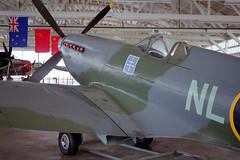 Spitfire Mk IX, c/n CBAF-1290 (Ian E. Abbott) Tags: supermarinespitfiremkix supermarinespitfire spitfiremkix supermarine spitfire cbaf1290 worldwariiaircraft wwiiaircraft champlinfightermuseum champlincollection champlin