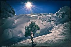 chamonix (Cath'art Photography) Tags: chamonix montblanc montagne mountain mountains ice climbing climber photo photography photographie blanc hiver winter monte blanco top summit