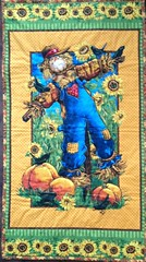 Fall Harvest ... Quilted Panels by Patricia (Mr. Happy Face - Peace :)) Tags: sewing art2018 bechthold