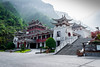 Zhangjiajie (Barold88) Tags: china zhangjiajie mountains chinese architecture red white greenery heavens gateway toilet public
