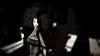 I Still Can't Tell (Gianmario Masala [inworld]) Tags: photoshop blur blurry mono monochrome gianmariomasala blackandwhite highandlowkey shadows photograph dark curly hair aboutyouandme motion grain girl woman female lips eyes tattoo toned portrait face annamariabellah