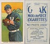 """1910 T212-2 Obak Cigarettes Baseball Card (""""No Paste  Used"""" #20 / 175 Subjects) - GEORGE CAPRON (Outfielder) (Vancouver Beavers / Northwestern League) (#239) (Treasures from the Past) Tags: t212 tobaccocard tobacco 1909 1910 1911 cigarette cigarettecard americantobaccocompany t212obak obak baseballcard vintage californiabranch obakmouthpiececigarettesbrand mouthpiececigarettes nwl northwestleague northwesternleague pcl pacificcoastleague georgehenrycapron georgecapron outfielder vancouverbeavers"""