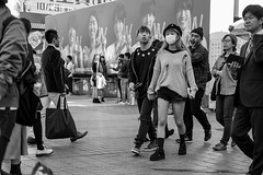 Brawler (burnt dirt) Tags: asian japan tokyo shibuya station streetphotography documentary candid portrait fujifilm xt1 bw blackandwhite laugh smile cute sexy latina young girl woman japanese korean thai dress skirt shorts jeans jacket leather pants boots heels stilettos bra stockings tights yogapants leggings couple lovers friends longhair shorthair ponytail cellphone glasses sunglasses blonde brunette redhead tattoo model train bus busstation metro city town downtown sidewalk pretty beautiful selfie fashion pregnant sweater people person costume cosplay ripped hat