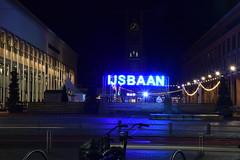 Tram off (Roterodamus) Tags: night shot longexposure manual unedited holland schiedam skating iceskating urban city