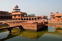 Fatehpur Sikri (geneward2) Tags: fatehpur sikri india fort city ancient capital reflection
