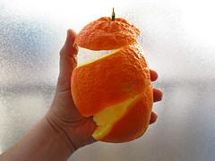 Textures de la taronja (rferrer7) Tags: orange taronja naranja light textures fruit fruita fruta food menjar comida