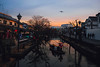 Kurashiki (Tridentz | 侘等時) Tags: kurashiki okyama japan sunset dusk river waterfornt culture visit travel fujifilm xe3 xf56 85mm f23 fuji 2018 winter deep reflect reflection light daily