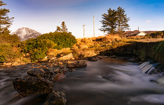 Glenthornan River Wide (ClassicAngles) Tags: 2018 bridge ireland water splash dunlewy mounterrigal flowing trees gcc splashes mistywaters sigma10to20mm sky lazyshutters wideangle classicangles donegal bushes mountains bluesky longexposure telegraphpoles river rocky loughswilly nikon errigal nikond3400 flickrtravelaward slow flickr longexpo countydonegal ie