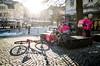 Bergen, March 1, 2018 (Ulf Bodin) Tags: shadow bicycle winter street streetphotography outdoor bike urbanphotography cykelbud norway urban canoneosm3 biker norge cyklist bergen vinter foodora city cyclecouriers cykel urbanlife hordaland no