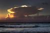 Thundercloud at sunset (Robyn Hooz) Tags: cuba mare thundercloud temporale varadero onde sunset tramonto waves ocean poem caribbean caraibi natura