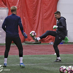 Spencer Richey & Evan Newton working GK Coach Jack Stern thumbnail